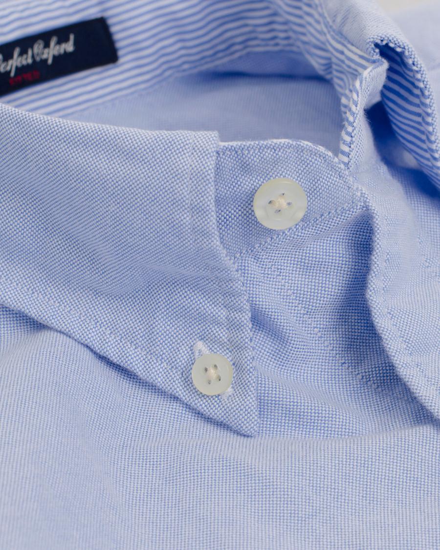 ac8f2800e GANT The Perfect Oxford Shirt Fitted Body Capri Blue hos CareOfCa
