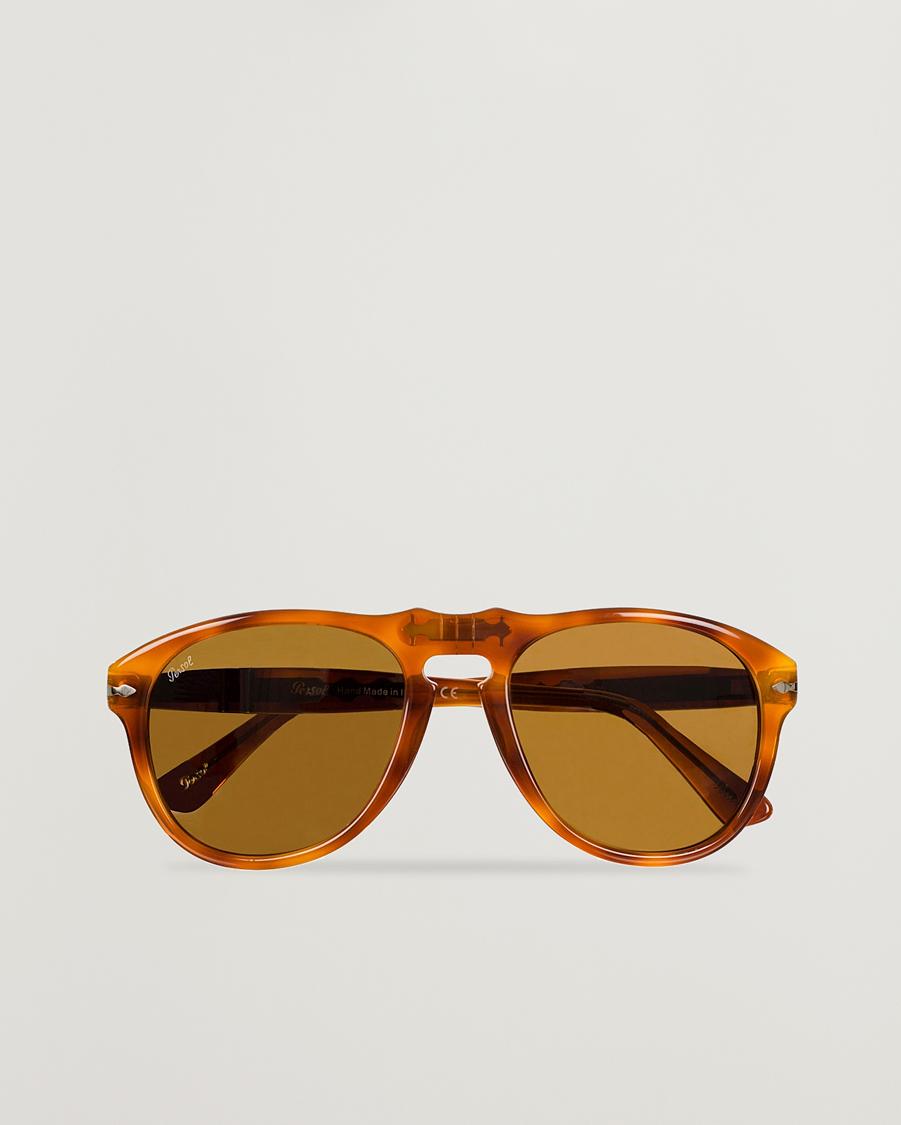 Persol PO0649 Sunglasses Light HavanaCrystal Brown