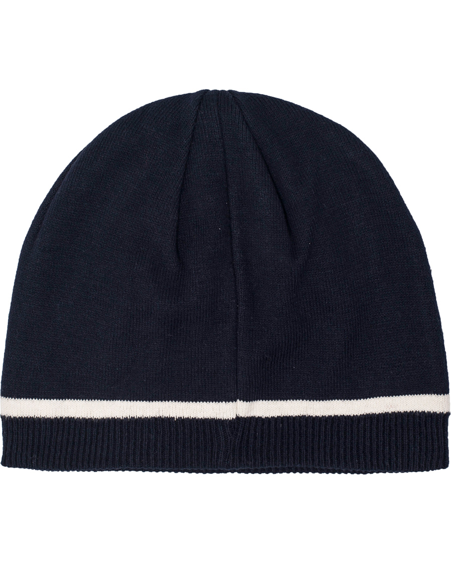 2dfe5720 GANT G Knit Beanie Thunder Blue hos CareOfCarl.no