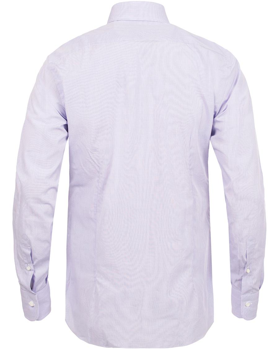 Barba Napoli Slim Fit Shirt Lavendel hos CareOfCarl.no