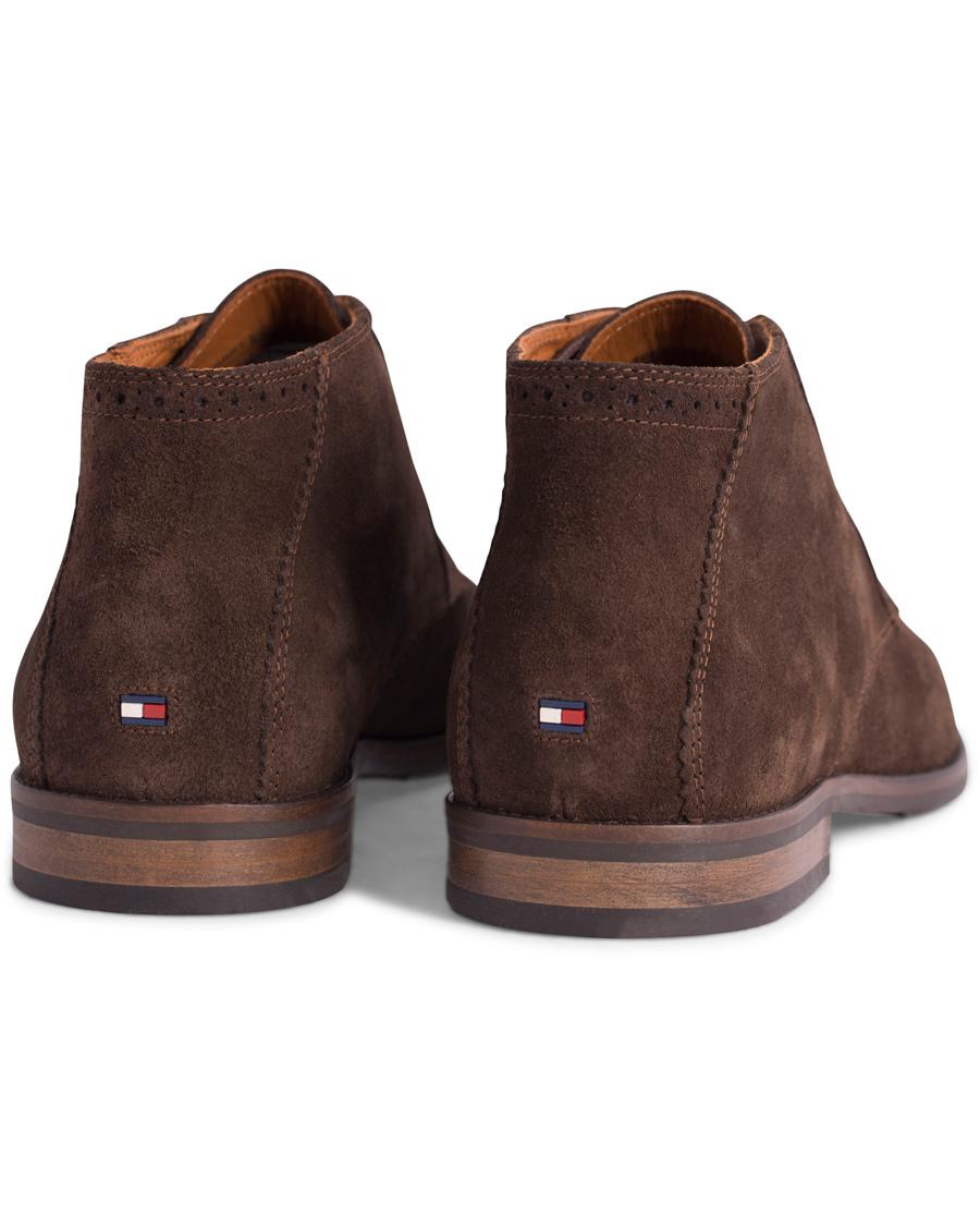 2d66288bdceff Tommy Hilfiger Dalton 16B Chukka Boot Coffee Bean Suede hos CareO