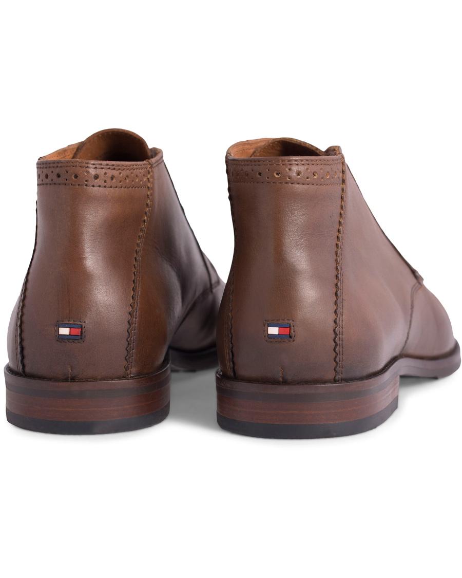 9fcb2cd44e9e25 Tommy Hilfiger Dalton 16A Chukka Boot Winter Cognac Calf hos Care