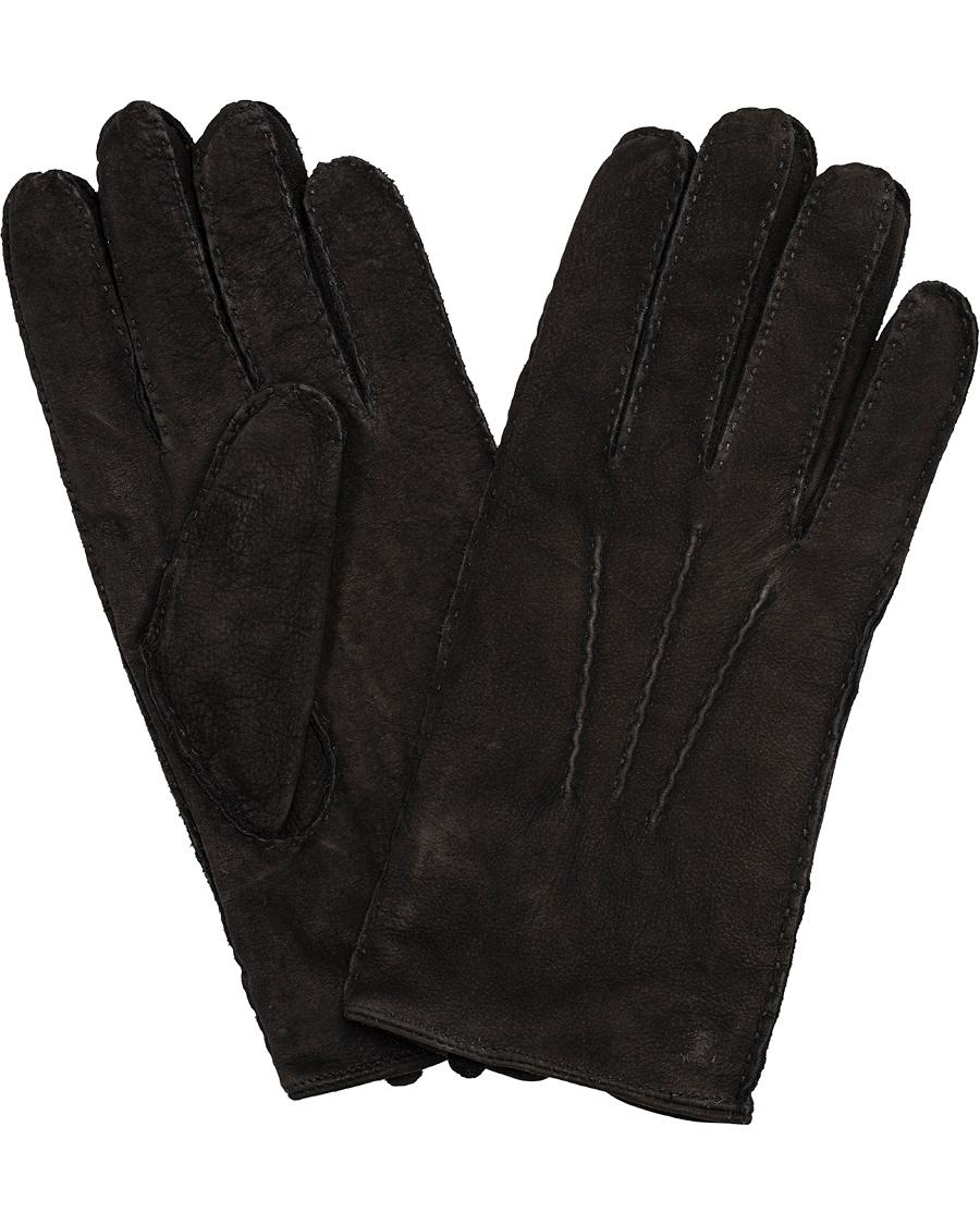 09974fec Tiger of Sweden Kronir Suede Glove Black i gruppen Assesoarer / Hansker hos  Care of Carl