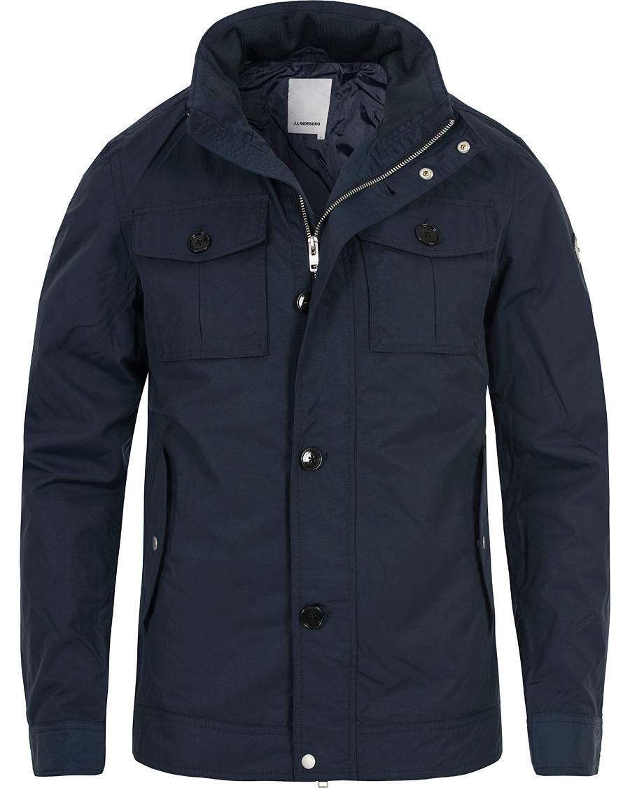 Fin J.Lindeberg Bailey 62 Sports Nylon Jacket Navy hos CareOfCarl.no KO-92
