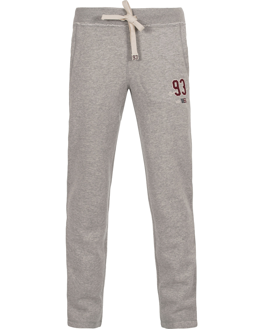 Lexington Brandon Jersey Pants Light Grey Melange hos