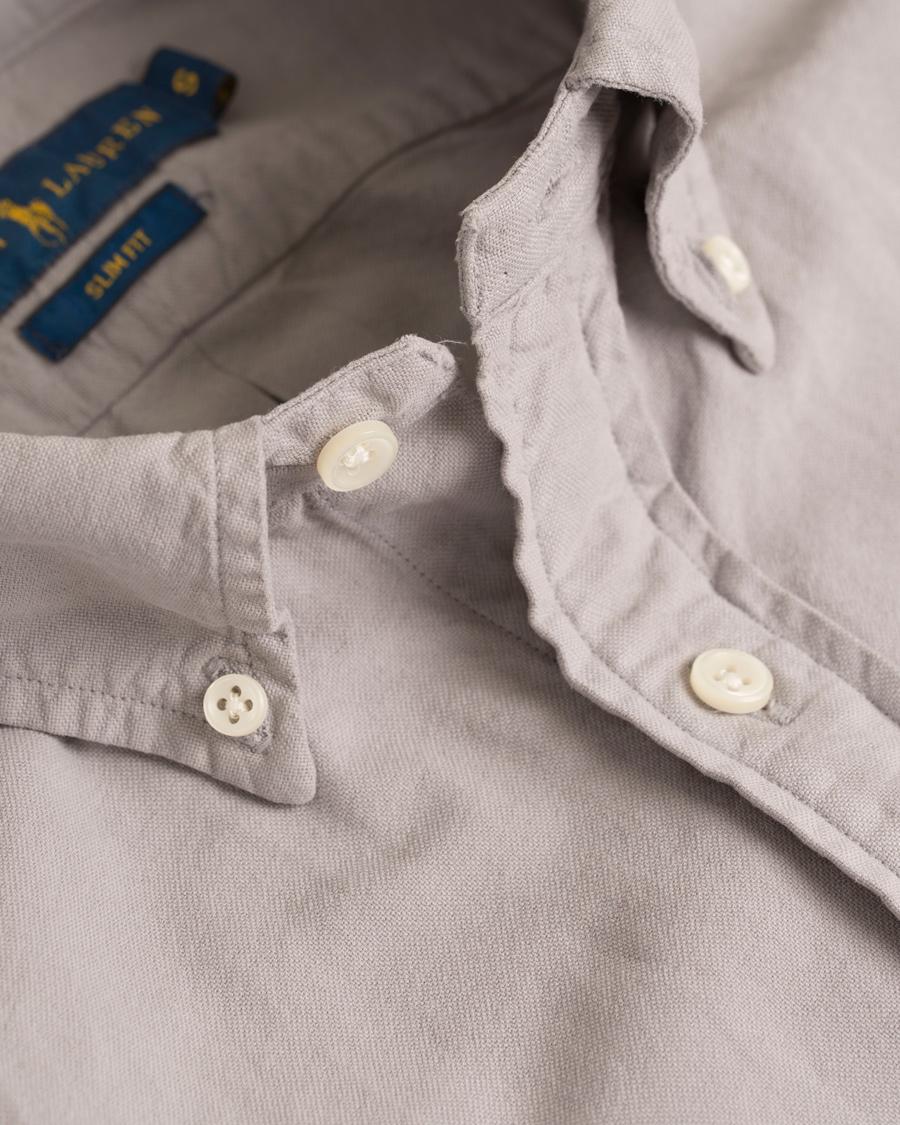 GARMENT DYED Skjorte grey