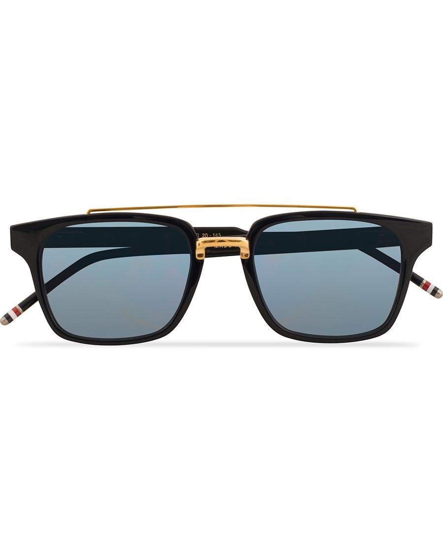14c4b1dff404 Thom Browne TB-803 Sunglasses Matte Navy Dark Blue hos CareOfCar
