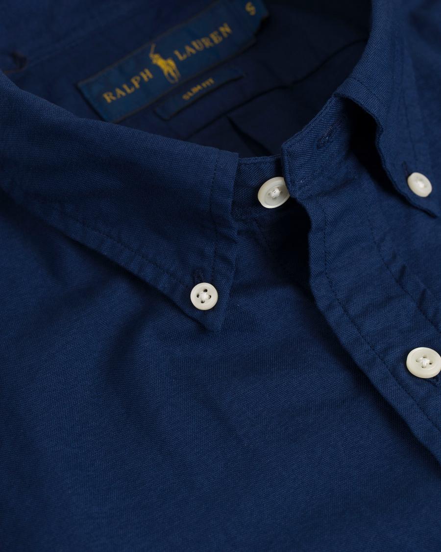 Polo Ralph Lauren OXFORD - Skjortekjole - holiday navy