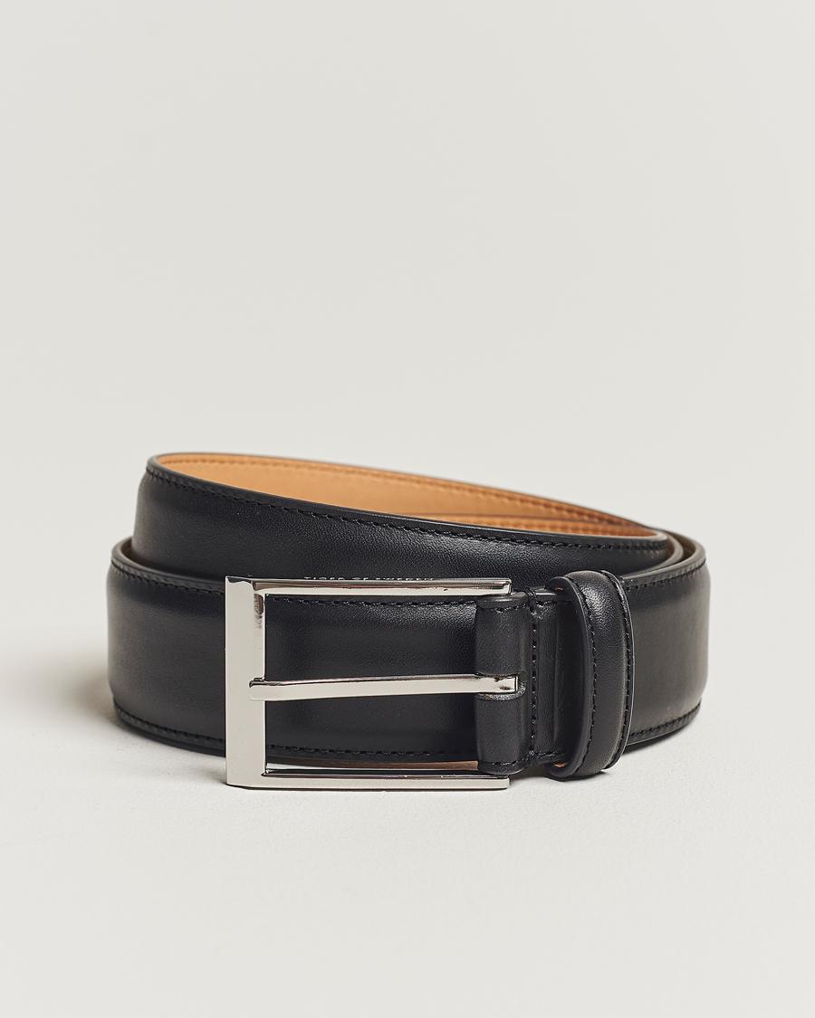 d7964178 Tiger of Sweden Helmi Leather Belt Black hos CareOfCarl.no