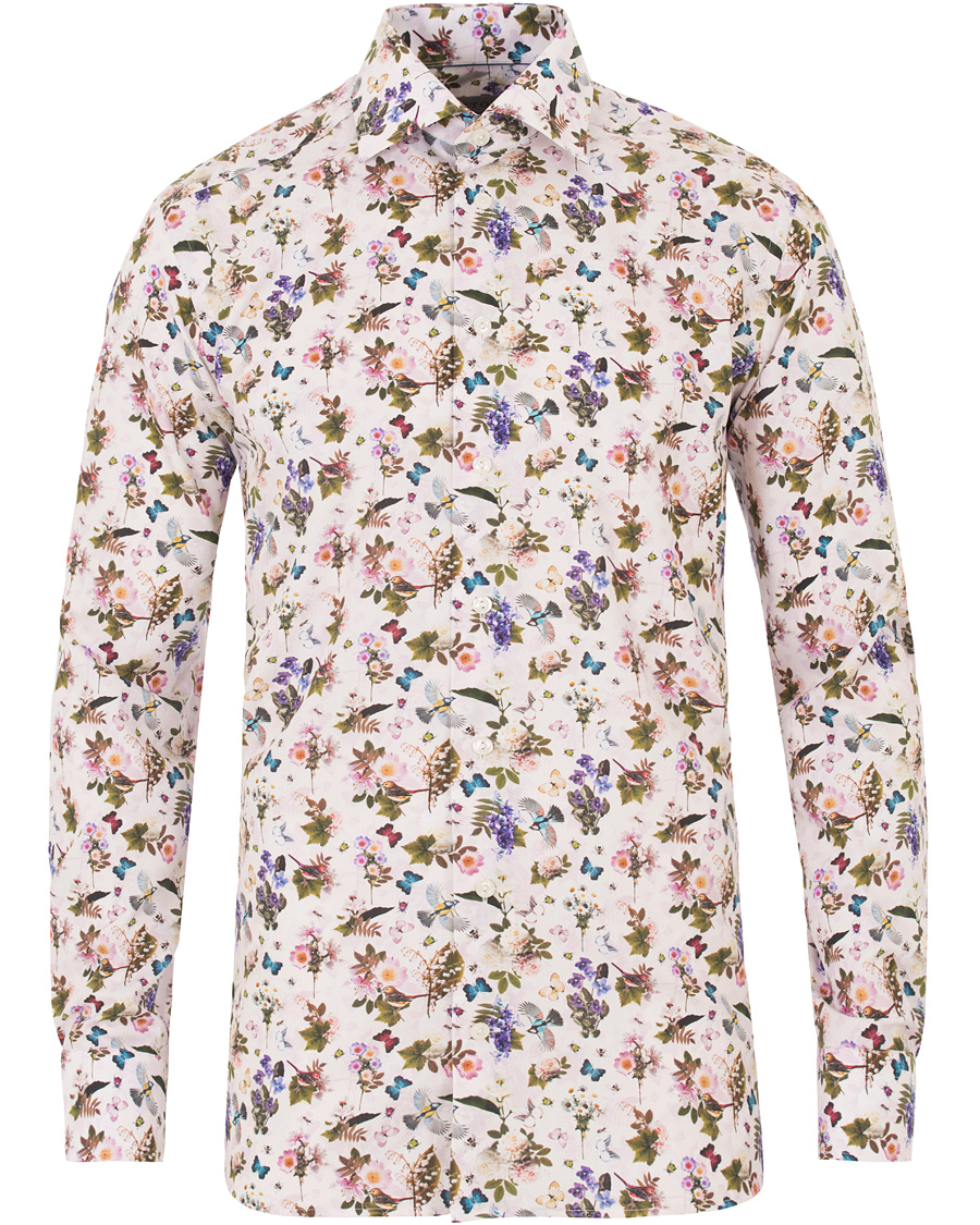 Contemporary Skjorte Blomster   Follestad