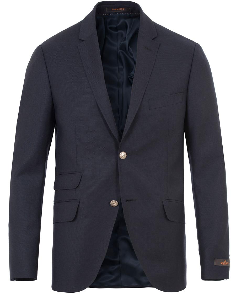 Morris Charles Wool Club Blazer Navy
