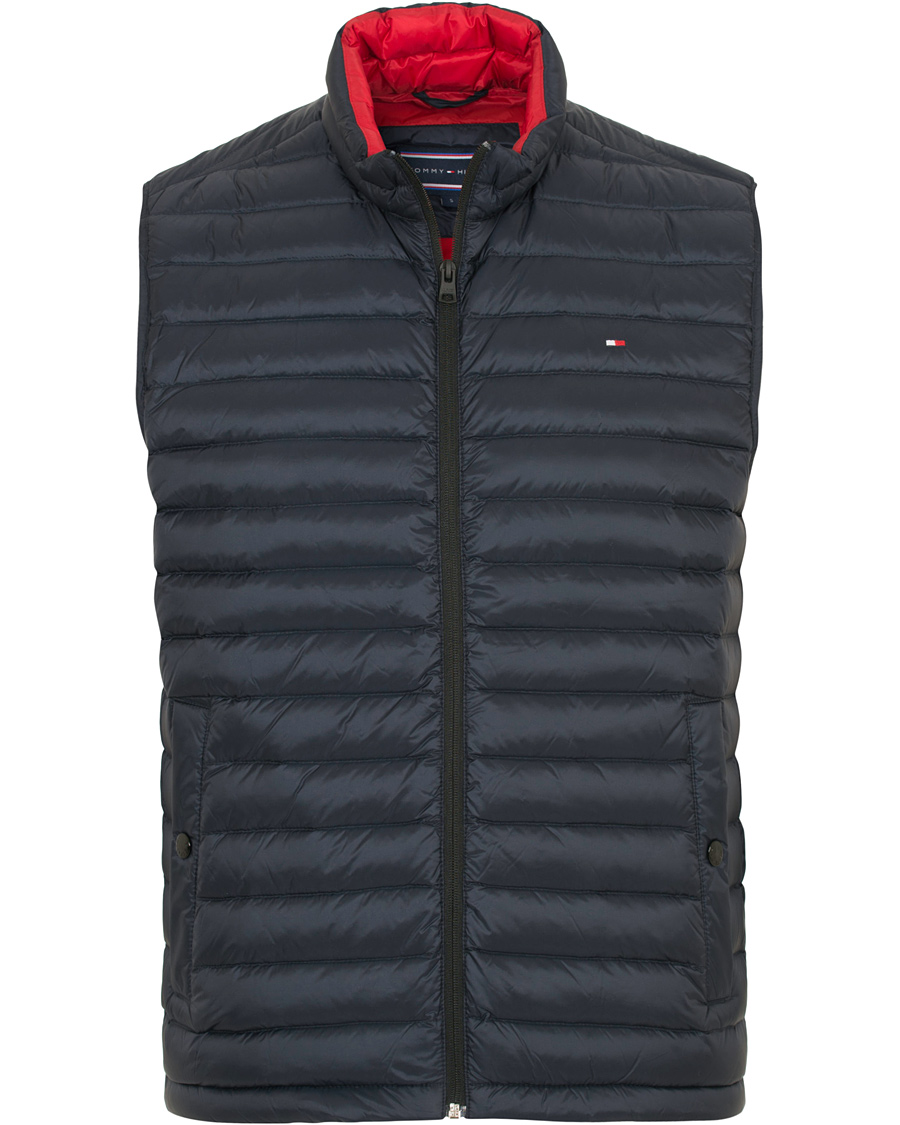 d0b02f0e Tommy Hilfiger Lightweight Packable Down Vest Sky Captain hos Car