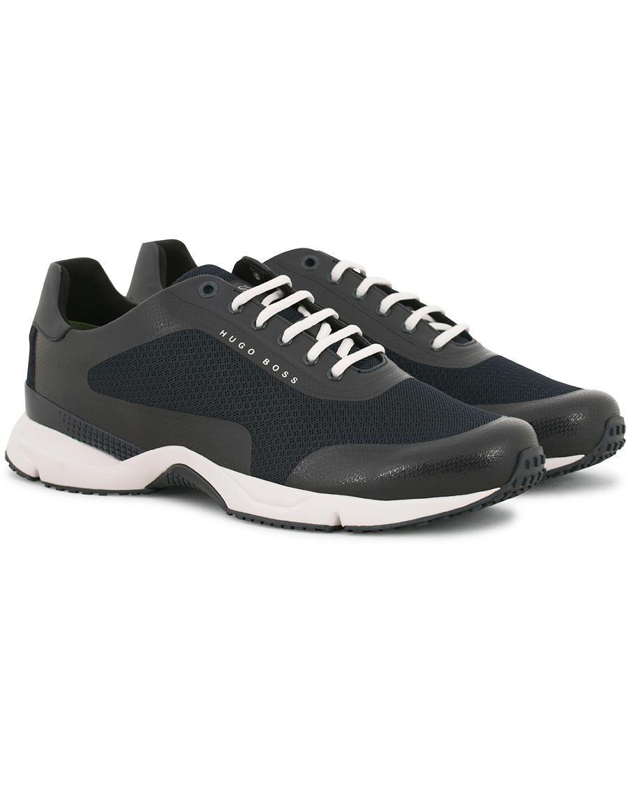 fa5bb8758 BOSS Athleisure Velocity Running Sneaker Blue hos CareOfCarl.no