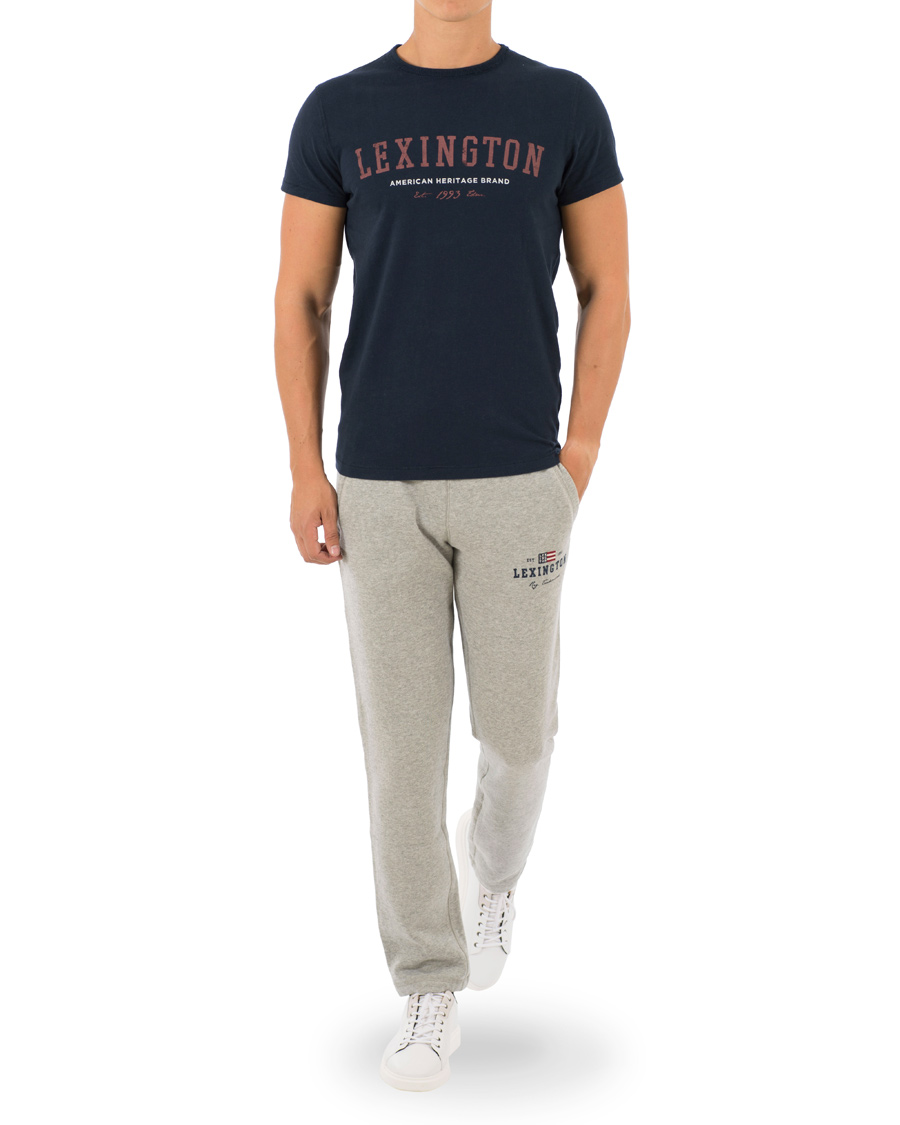 Lexington Brandon Jersey Pants Heather Grey Melange hos