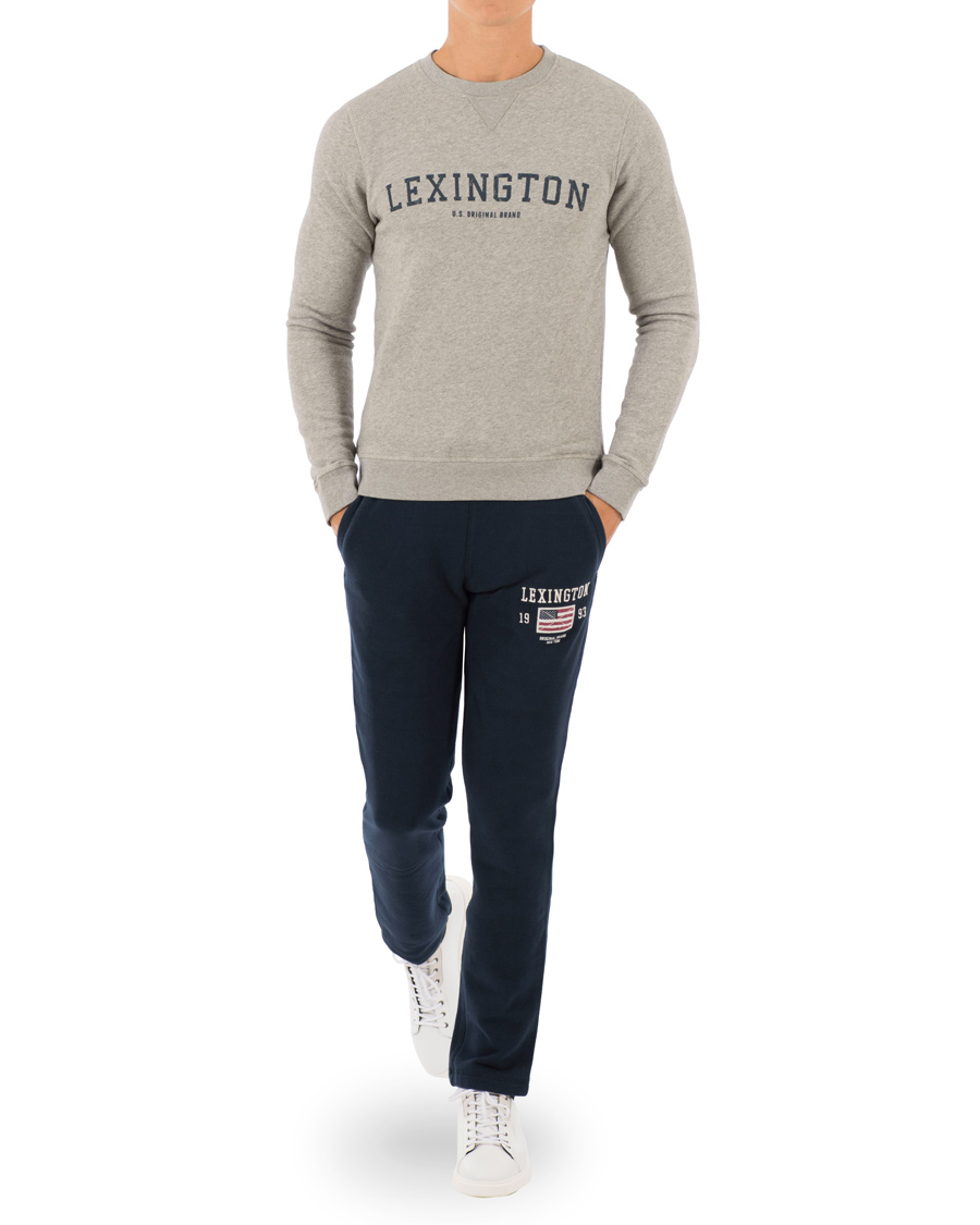 Lexington Brandon Sweatpants Deepest Blue hos CareOfCarl.no