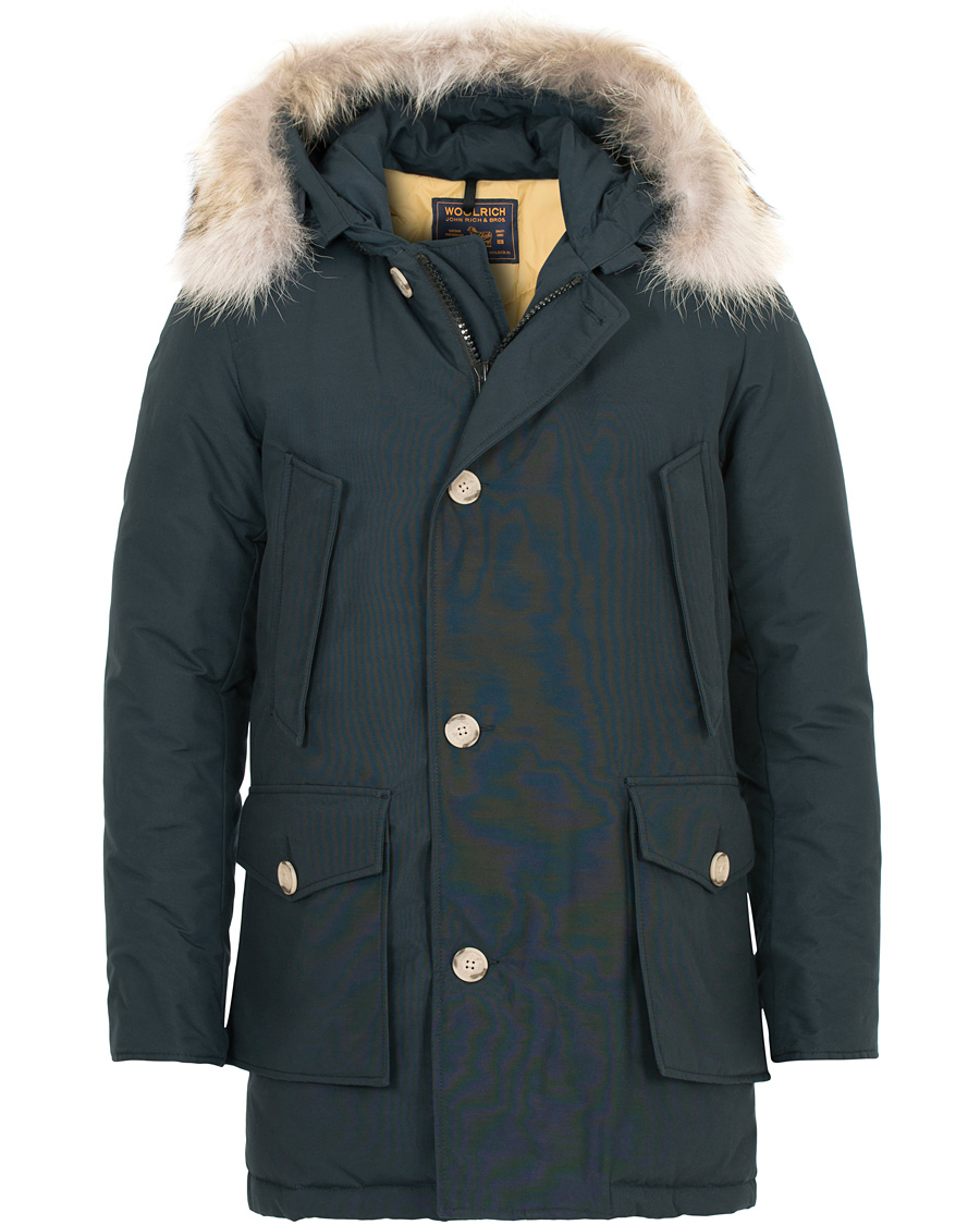 6ee52632 Woolrich Artic Parka DF Dark Navy hos CareOfCarl.no