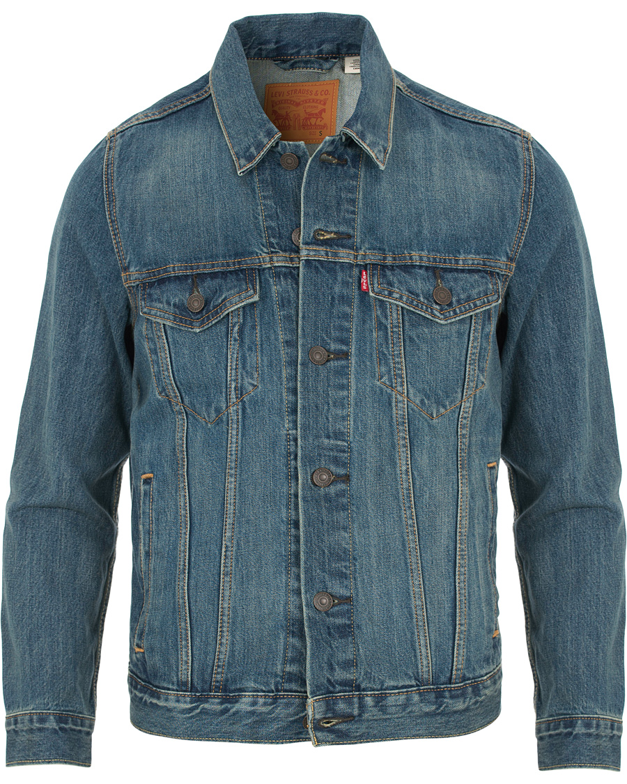 Blå Jeans Levis The Trucker Jacket Jakke