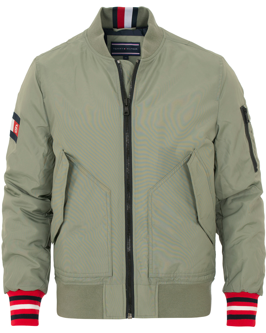3d382358 Tommy Hilfiger Collaboration The Chainsmokers Bomber Jacket Chain