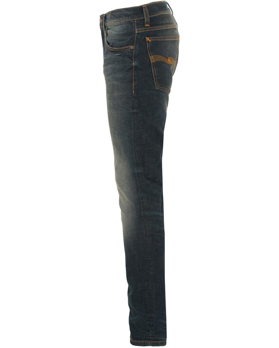 Nudie Jeans Tilted Tor Organic Slim Fit Jeans Dark Dusk hos