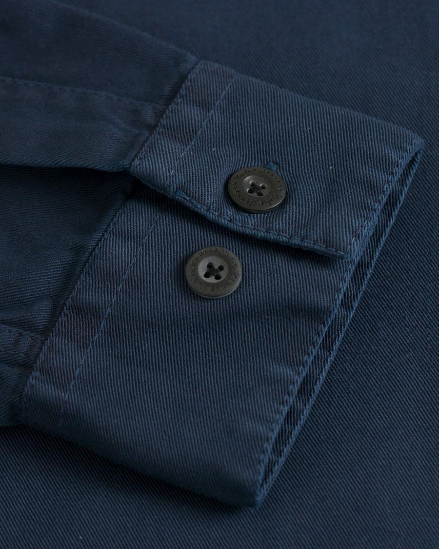 Nudie Jeans co Henry pigment farget lang shirted skjorte