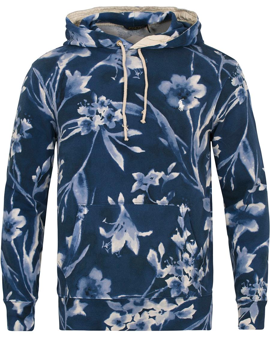 7f4e5686a3231 Polo Ralph Lauren Printed Flower Hoodie Blue hos CareOfCarl.no