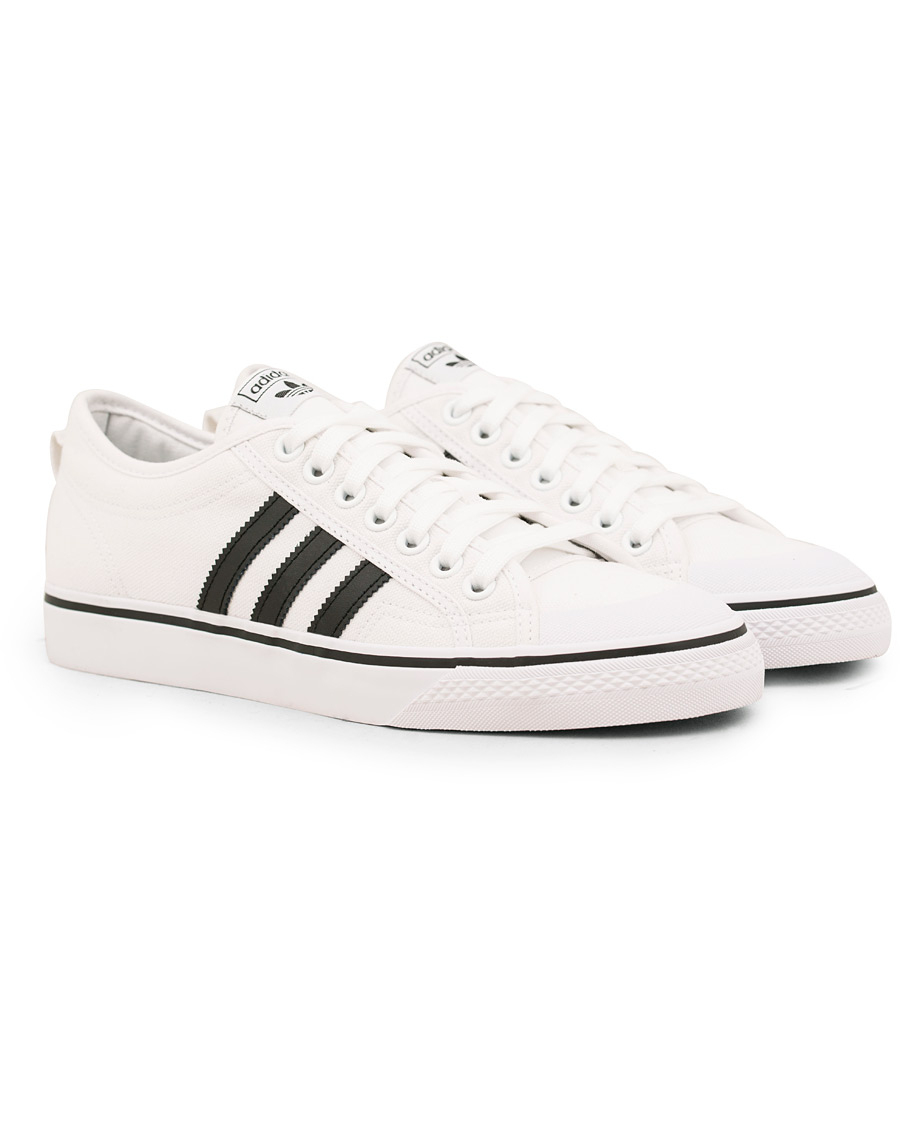 Adidas Originals Nizza Canvas Sneaker White hos CareOfCarl.no