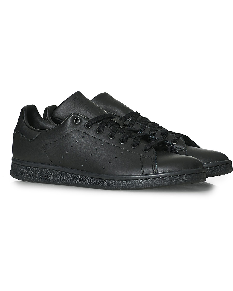adidas Mens Black Leather Retro Tennis Shoes. Black UK