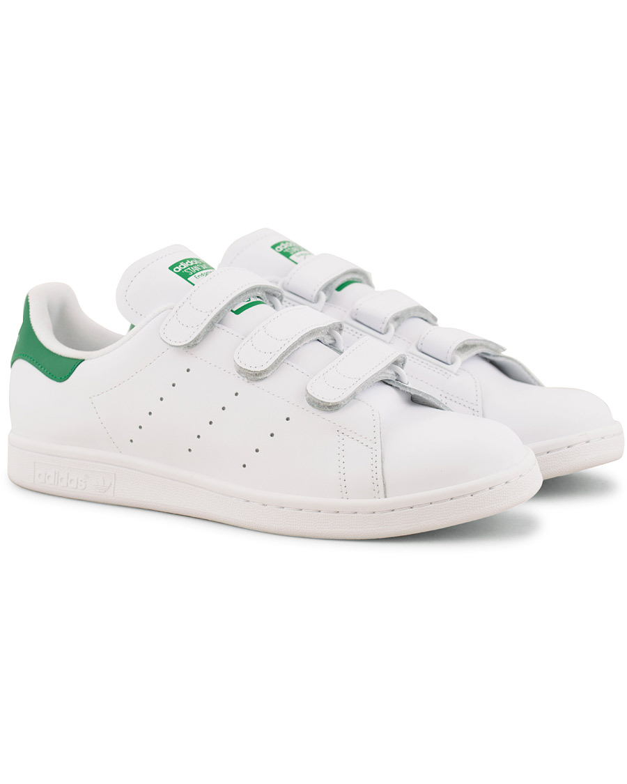 Leather Velcro Sneaker White Adidas hos Care Originals Stan Smith wOPn0k
