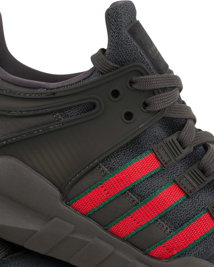 Adidas Originals EQT Support ADV Running Sneaker Black hos