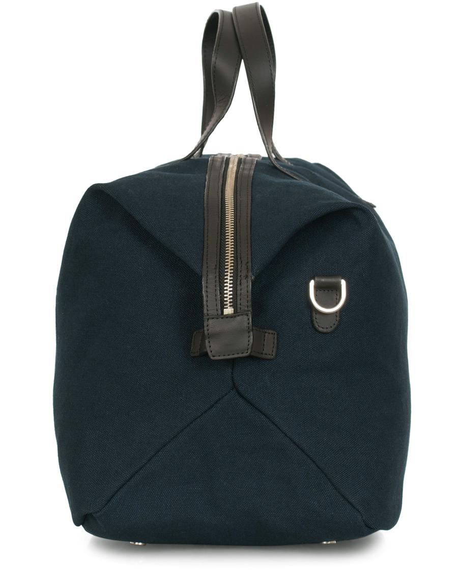 Sandqvist Holly Grand Organic Cotton Canvas Weekendbag Blue