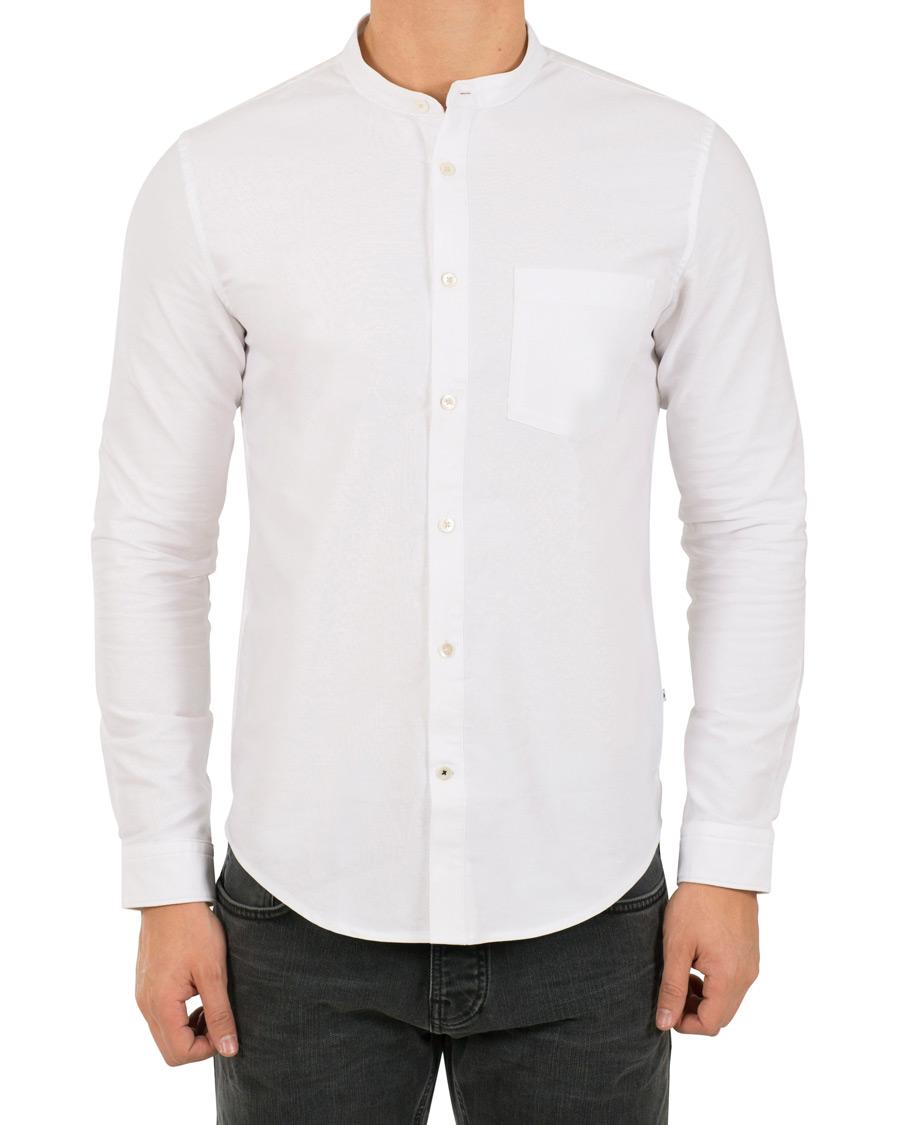 NN07 Eske 5910 Oxford Shirt White hos CareOfCarl.no