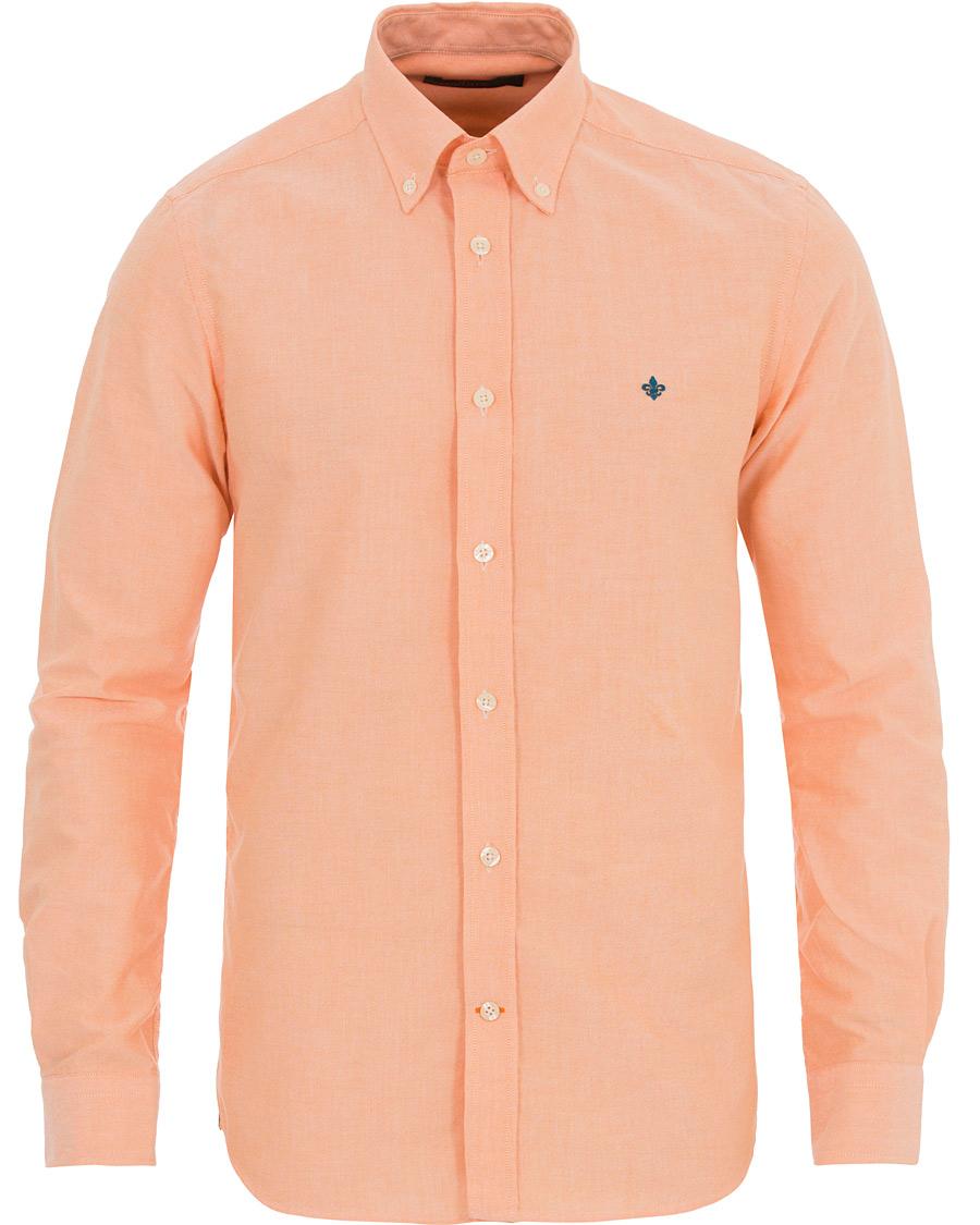 816bde45 Morris Douglas Oxford Shirt Orange hos CareOfCarl.no