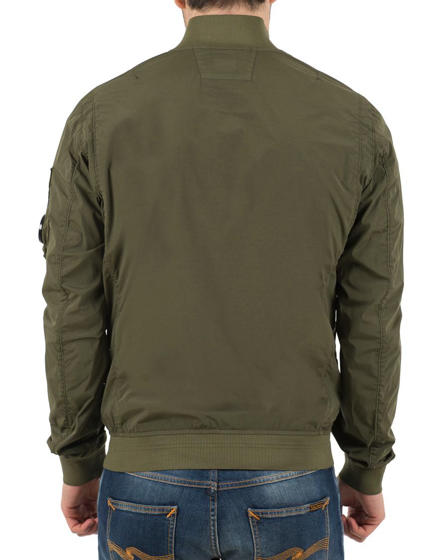 C.P. Company Bomber Jacket Green hos CareOfCarl.no