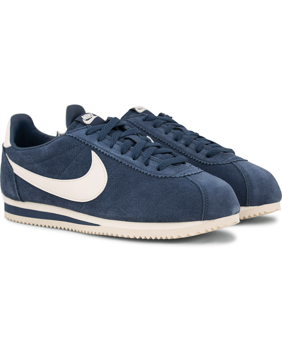 sports shoes c2d1e 35fd1 Nike Cortez Suede Sneaker Navy