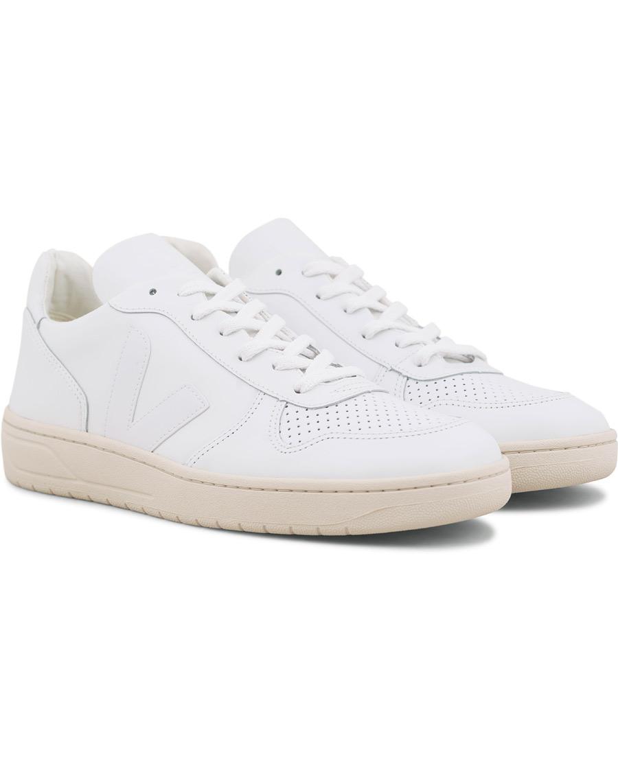 Veja V 10 Leather Sneaker Extra White 40