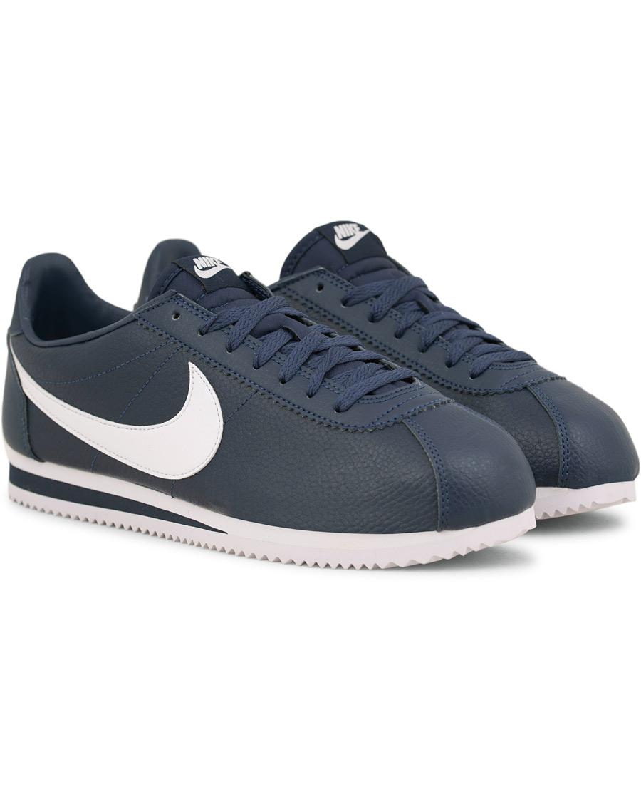 size 40 a807b b4a17 ... czech nike classic cortez leather sneaker blue 5aae3 c7523