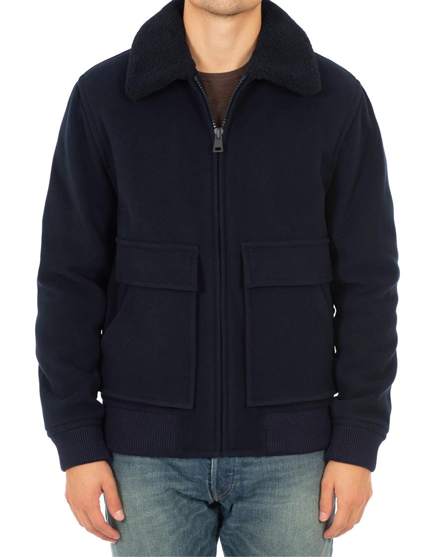 A.P.C. Bronze Jacket | Blå | | WOAIG H02475 IAK | Caliroots