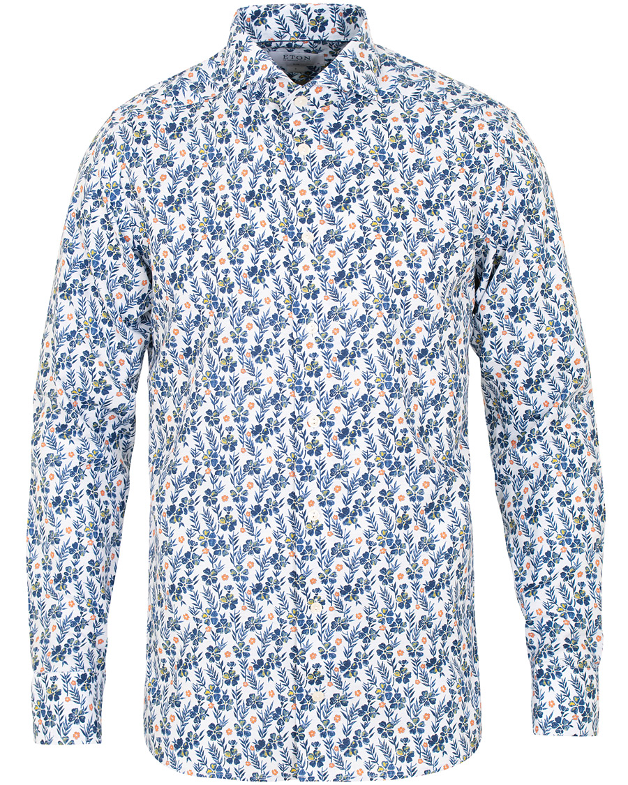 Eton Slim Fit Floral Evening Shirt