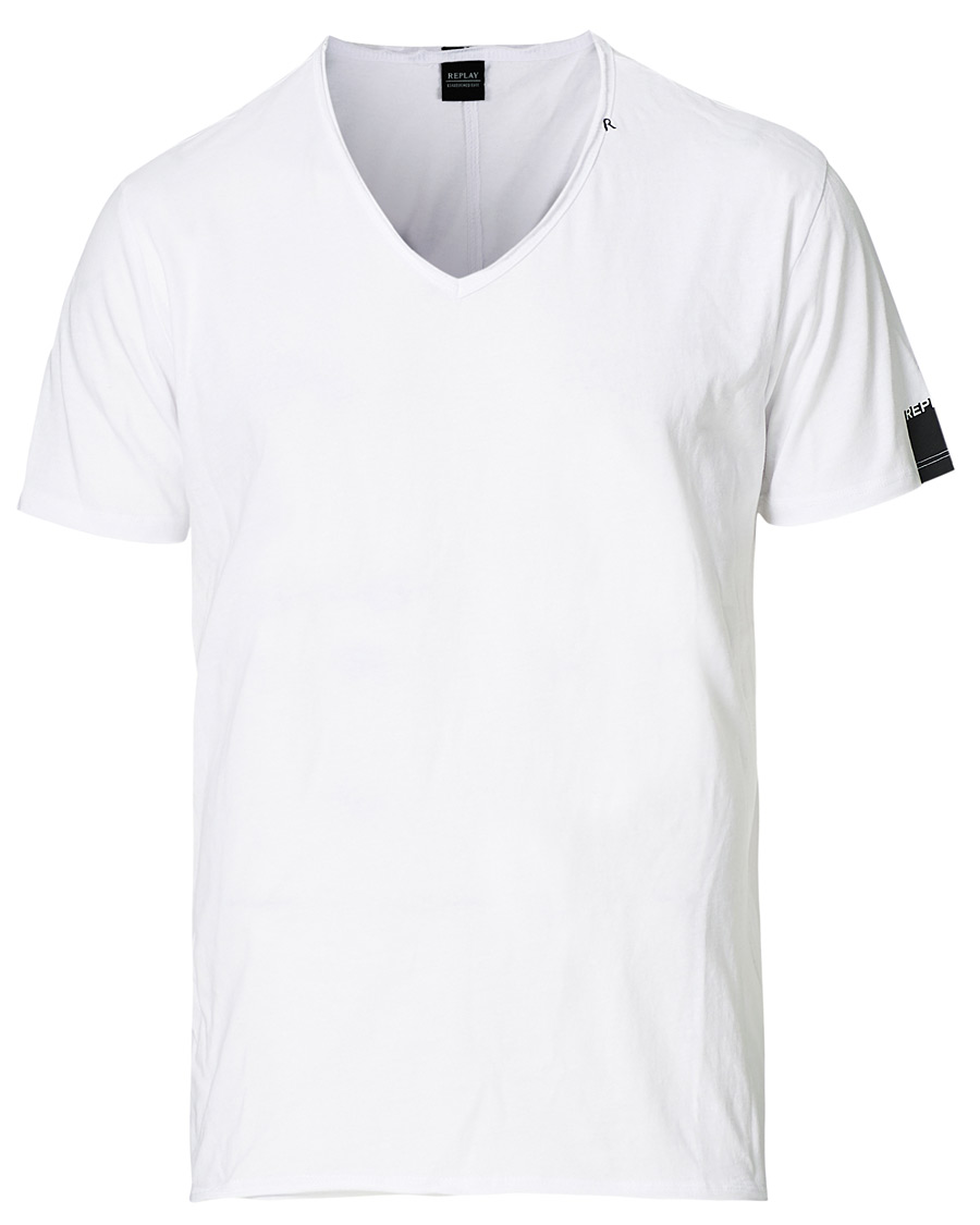 Replay 2 PACK - T-shirts - white/black