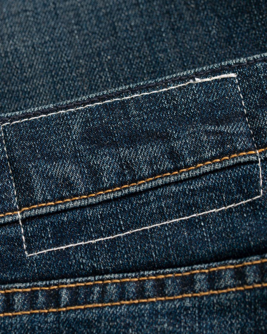 BLUE Jeans with rips  Rag & Bone  Slim-fit jeans - Herreklær er billig