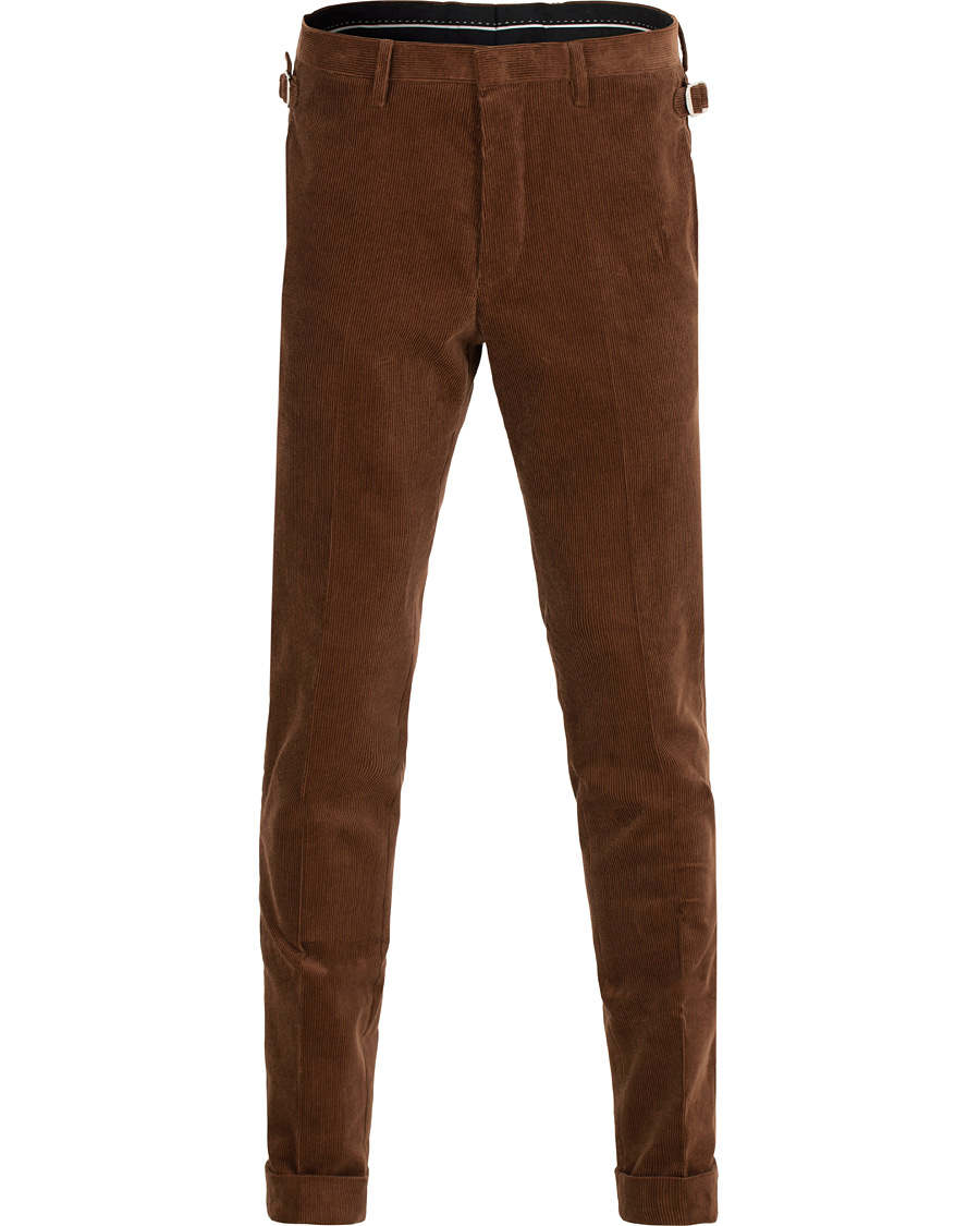 Tiger of Sweden Tretton Corduroy Turn Up Trousers Brown hos