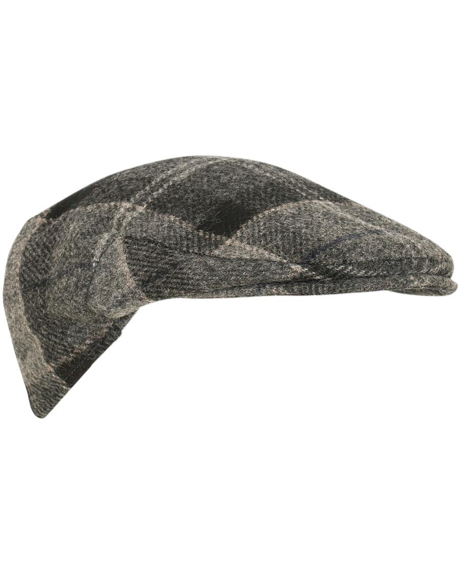 eaa0e5c8 Barbour Lifestyle Moons Tweed Cap Black/Grey Tartan hos CareOfCar