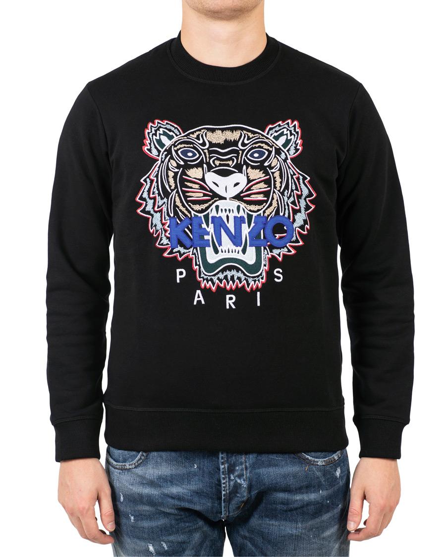 KENZO Tiger Classic Sweatshirt Black hos CareOfCarl.no