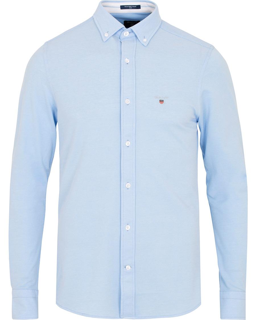 Lyseblå Tech Prep Skjorte   Gant   Langermede skjorter