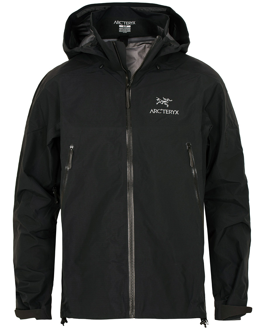 Arc'Teryx Beta AR GORE TEX Jacket Black hos CareOfCarl.no