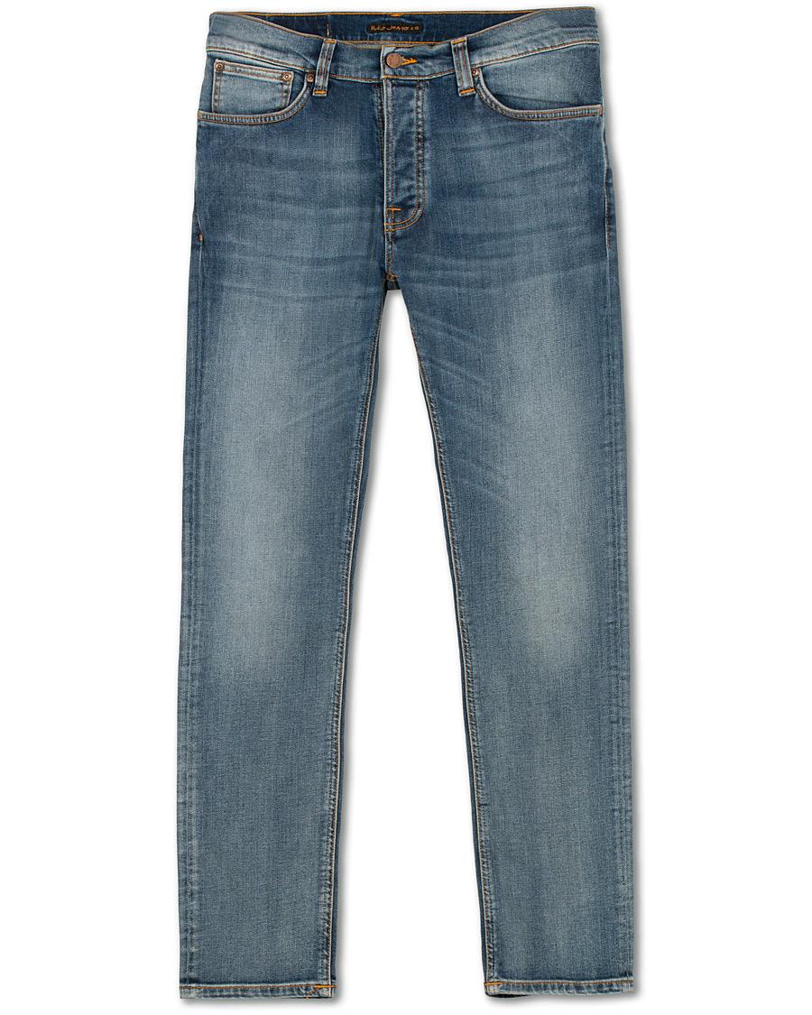 0cc5f5aab695 Nudie Jeans Dude Dan Organic Jeans Steel Indigo hos CareOfCarl.no