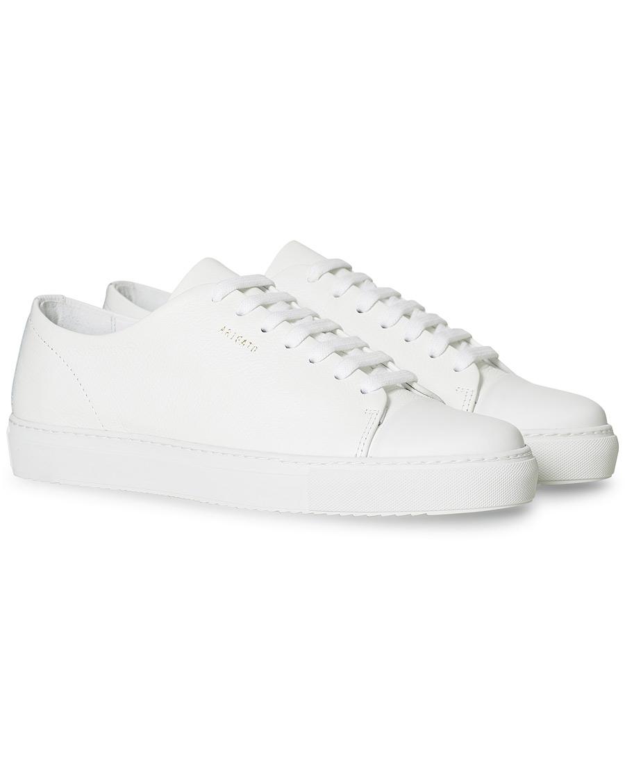 belle et charmante service durable vraie qualité Axel Arigato Cap Toe Sneaker White Leather 39