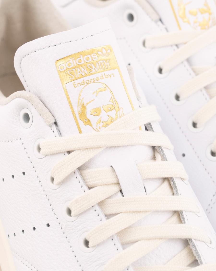 adidas Originals Stan Smith Sneaker WhiteGold hos CareOfCarl.no