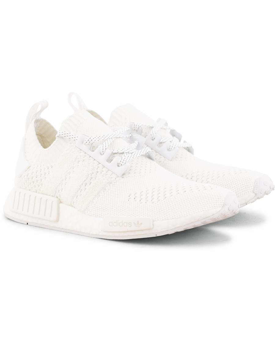 adidas Originals NMD_R1 Primeknit Running Sneaker White hos