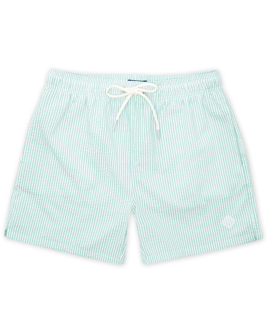 ac71ec613 GANT Seersucker Swim Shorts Pool Green hos CareOfCarl.no